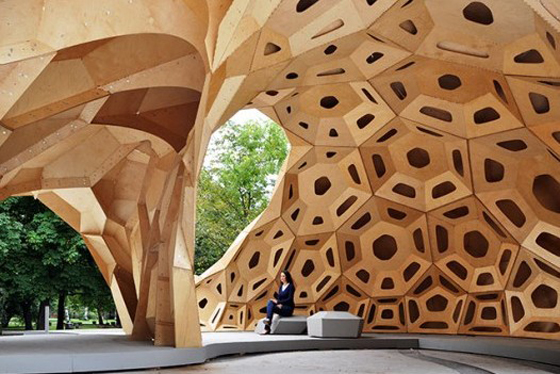 Nature Inspired Pavilion