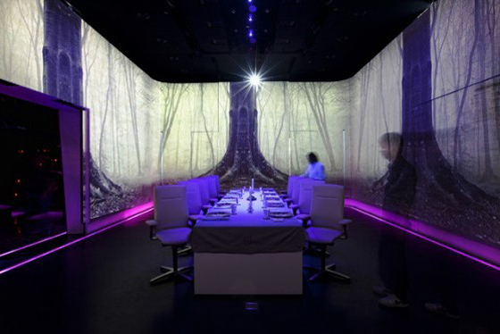 Combining Technology with Experiential Dining