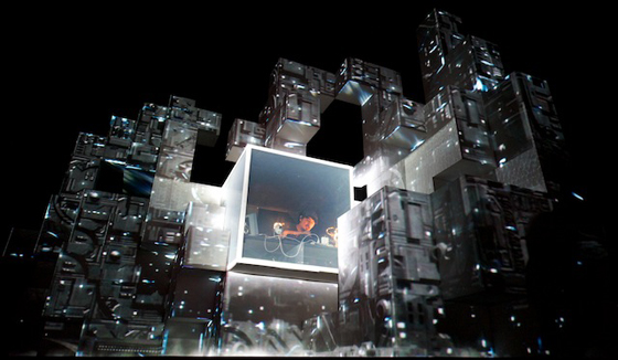 Projection Mapping Creates Show Visuals