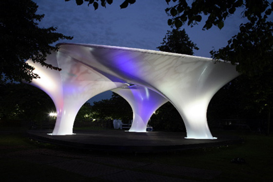 Fabric Structures Create Temporary Event SpaceLilas