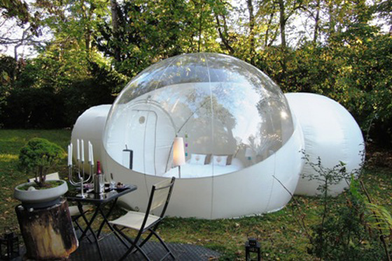 Eco-Friendly Enclosure in the Outdoors