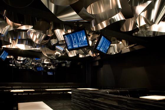 HANA restaurant / bar by Moriyuki Ochiai Architects, Tokyo – Japan
