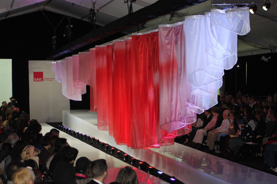 Fabric Takes Center Stage on Fashion Runway
