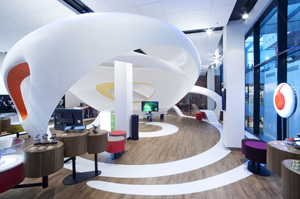 Vodafone by IO Studio-Ostrava Czech Republic