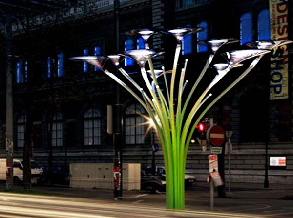 Ross Lovegrove's solar trees