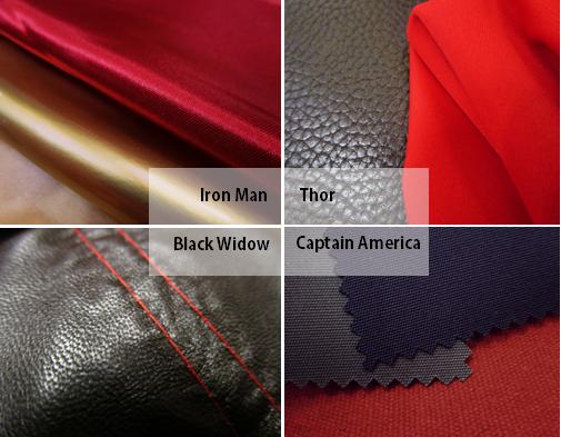 Avengers inspired fabrics
